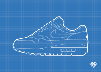 Nike Air Max 1 Blueprint
