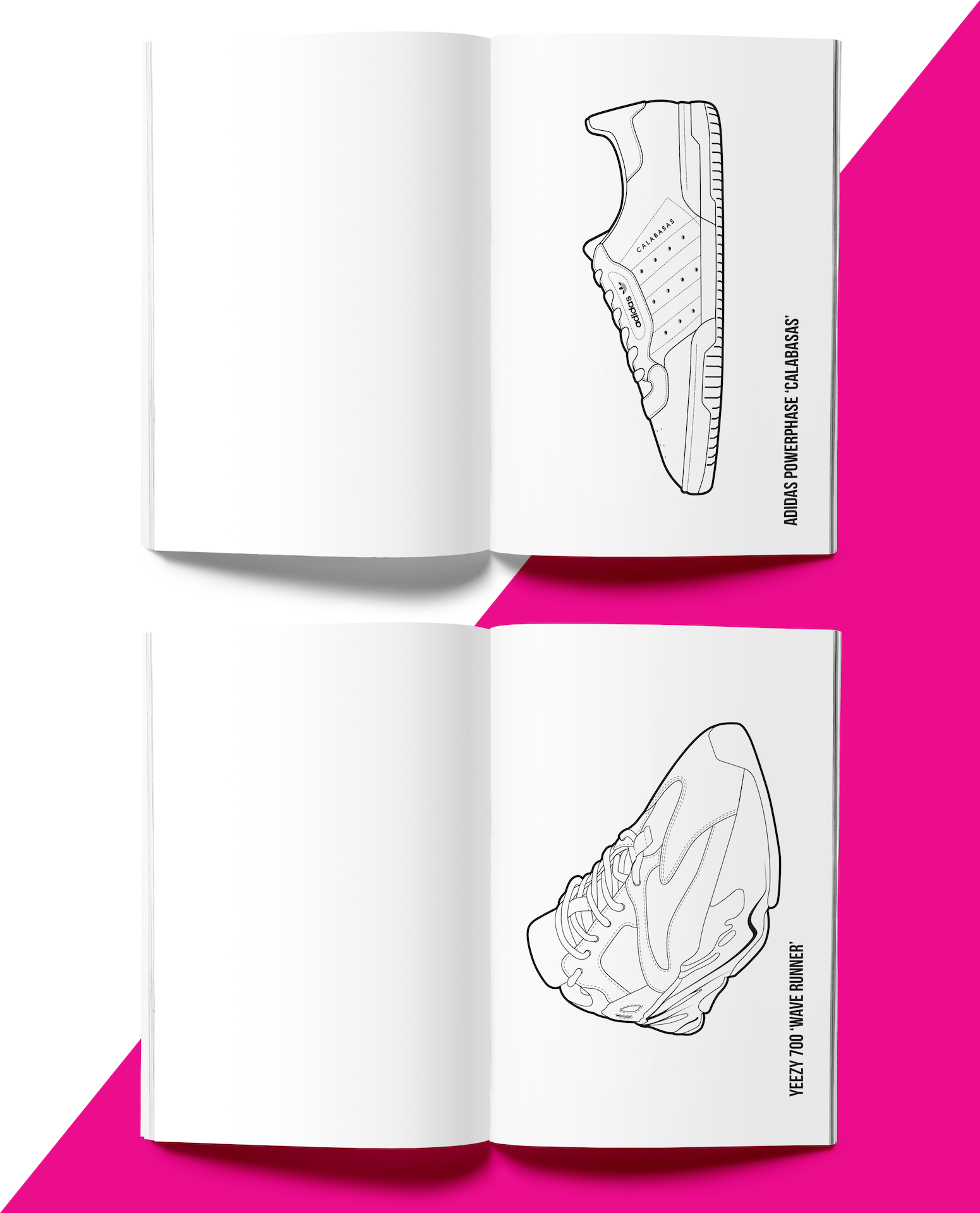 Hyprints Sneaker Coloring Book