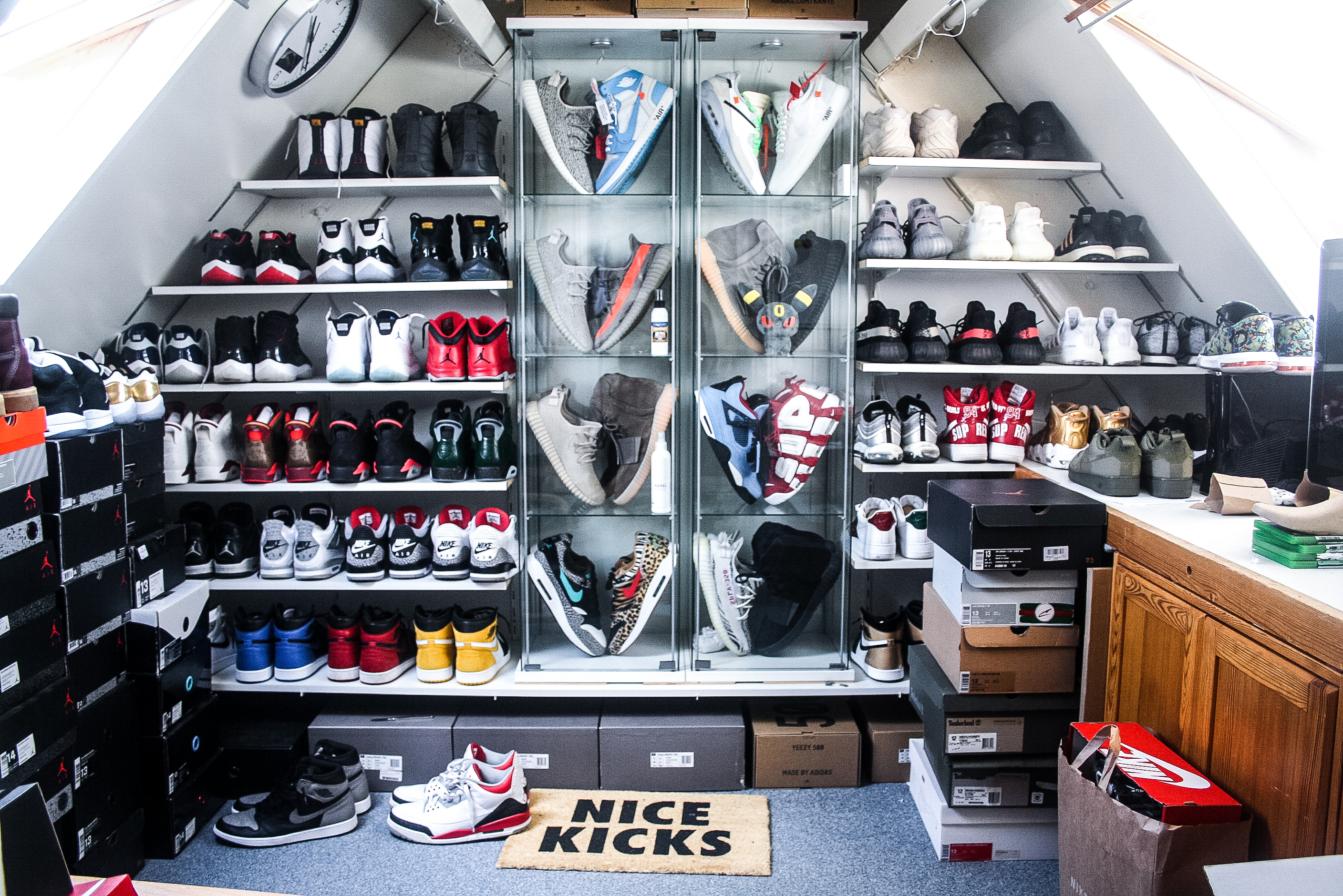 Inside the sneaker collection Jeroen Friso