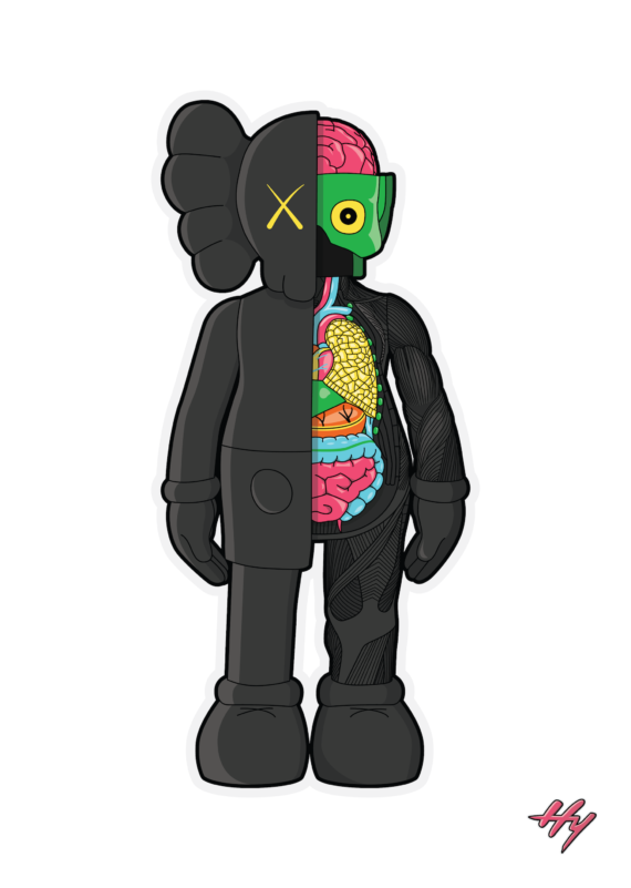 KAWS-Companion-Black