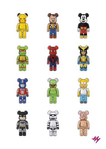 BEARBRICK Childhood