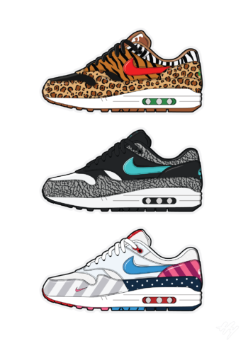 Build your own Air Max 1 print