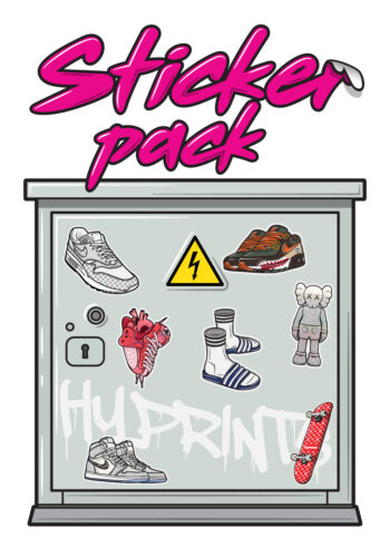 Hyprints sticker pack sneakers