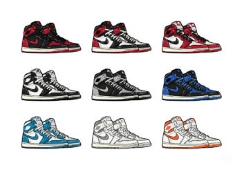 Hyprints Jordan 1 1985 collection sneaker print