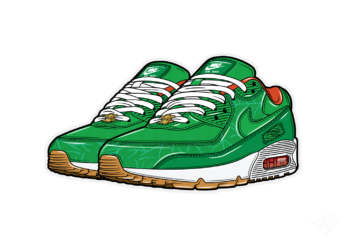 Hyprints Patta Nike Air Max 90 Homegrown sneaker art print