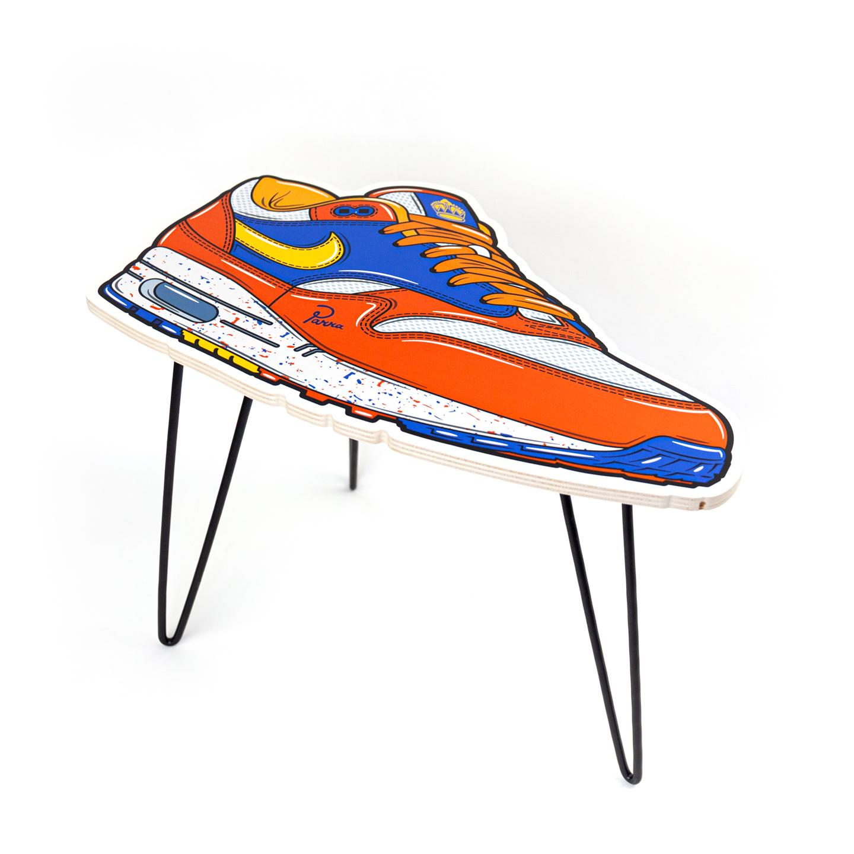 Hyprints Nike Air Max 1 Table Albert Heijn Parra Patta Sneaker Art