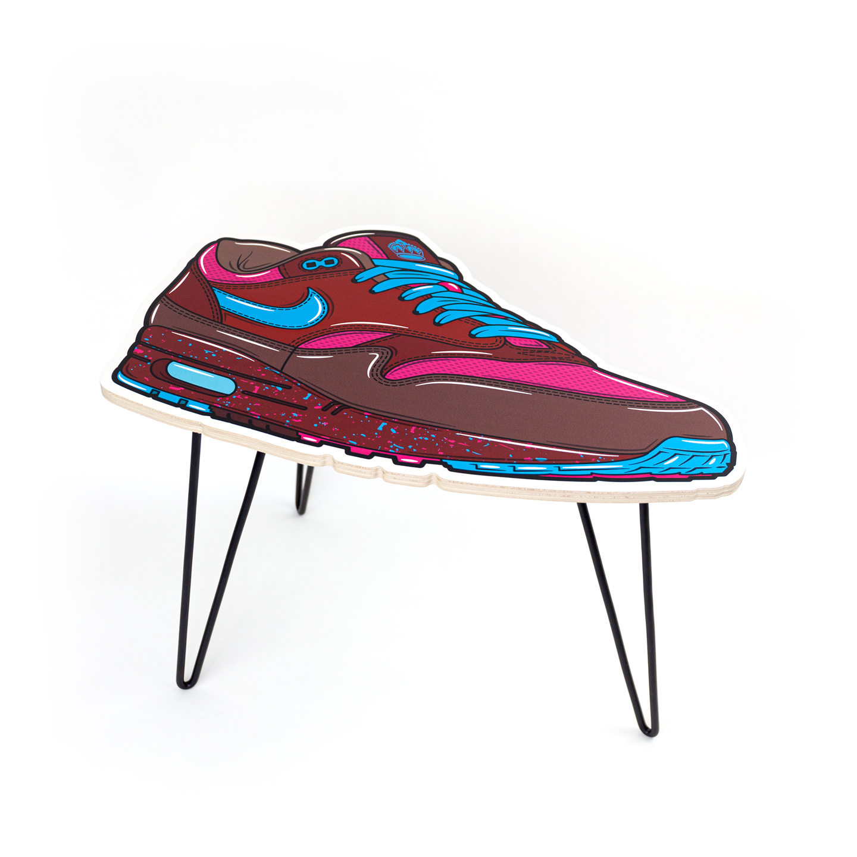 Hyprints Nike Air Max 1 Table Amsterdam Parra Patta Sneaker Art
