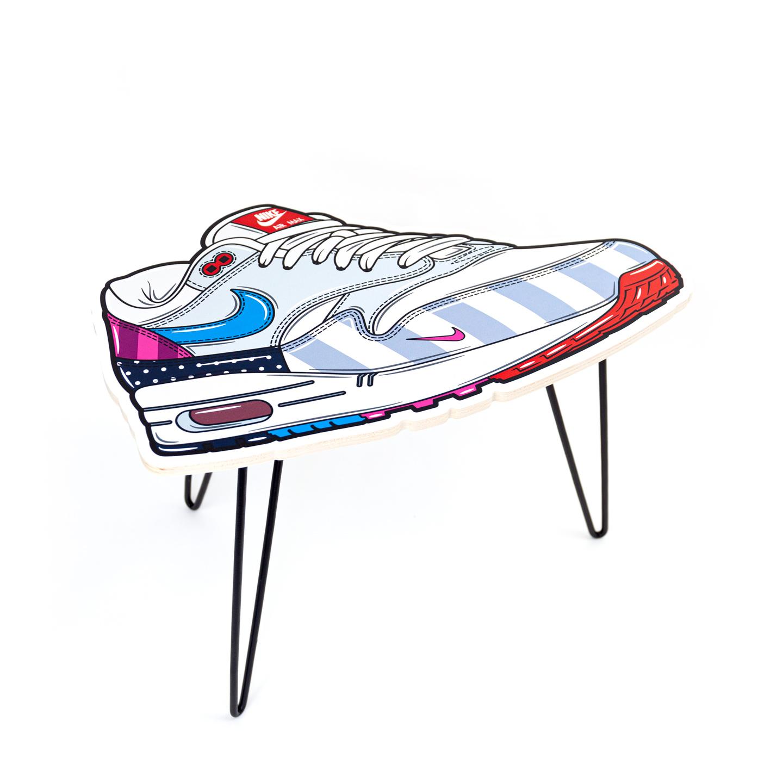 Hyprints Nike Air Max 1 Table Parra Patta Sneaker Art