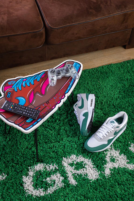Hyprints Nike Air Max 1 Table Parra Patta Sneaker Art Air Table 1